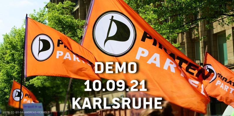 Piratenpartei demonstriert für Veränderung in der Drogenpolitik
