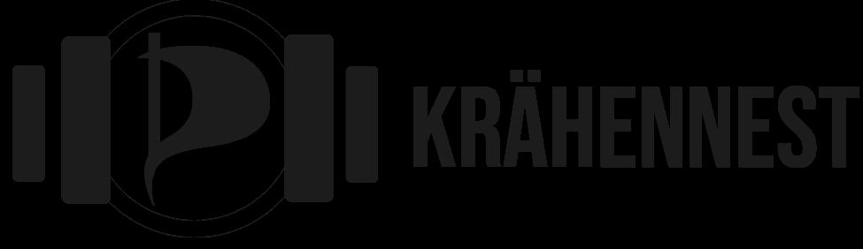 Logo des Krähennests - Podcasts der Piratenpartei NRW